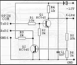 Схемы подключения компьютеров к k-line.  Материал размещен с. Read...